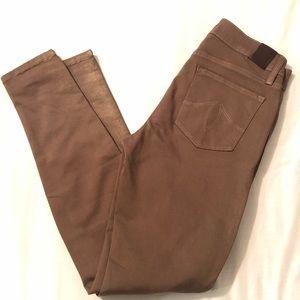 Level 99 Bronze Jeans Sparkle Skinny Size 27